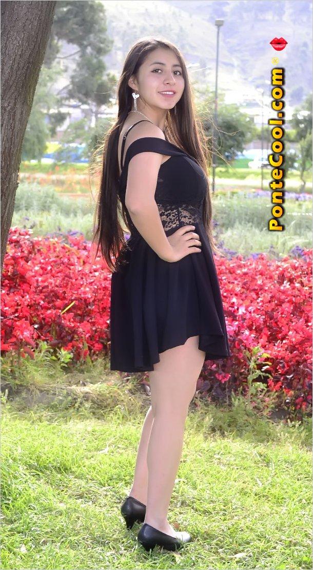 La hermosa Alexandra Elizalde