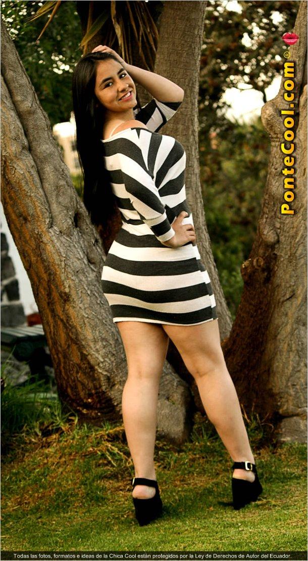 Daniela una chica bella y humilde
