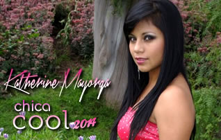 Katherine Mayorga candidata a Chica Cool 2014