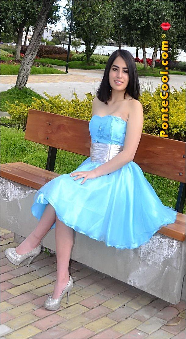 La bella y simpática María José