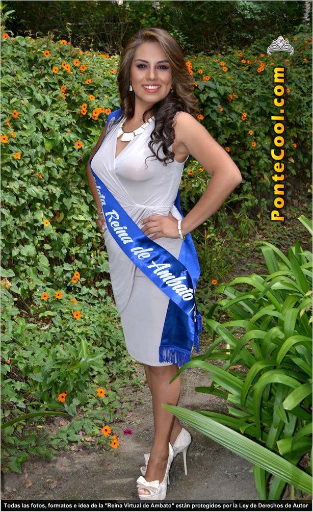 María José Castillo Escobar Candidata a Reina de Ambato 2015