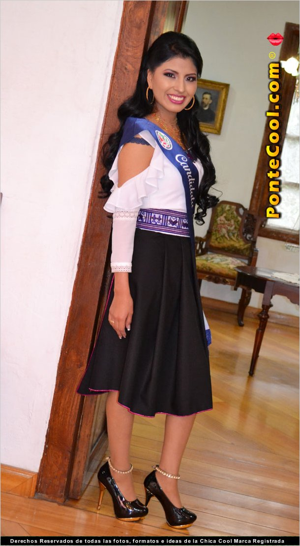 Erika Chango Candiadata a Reina de Ambato 2018