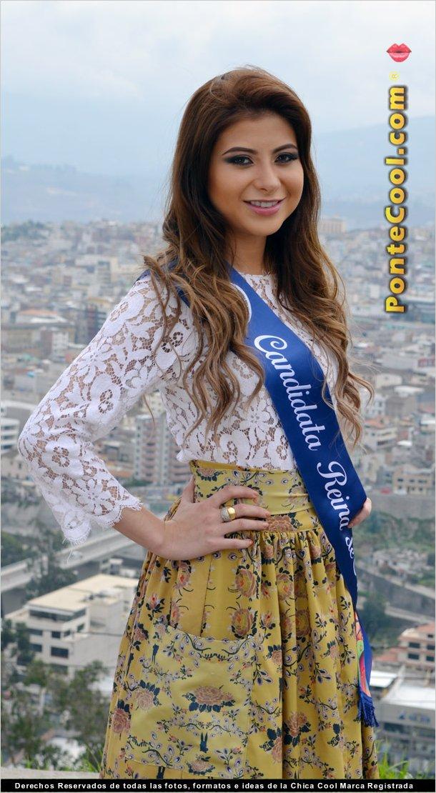 Anahí Garzón candidata a Reina de Ambato 2018