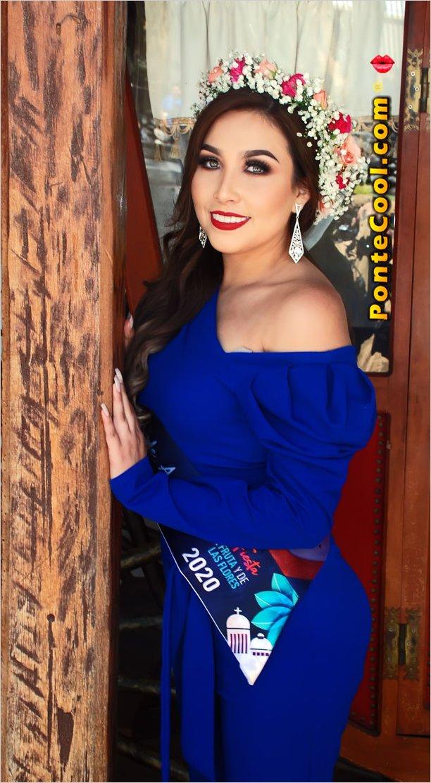 Nicole Pástor candidata a Reina de Ambato apoyala para Reina Virtual de Ambato 2020