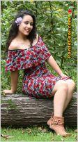 La hermosa y carismática Valeria Almeida