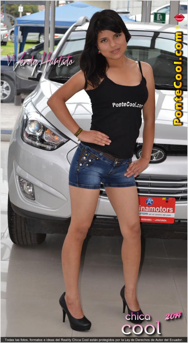 Wendy Hurtado Candidata a Chica Cool 2014